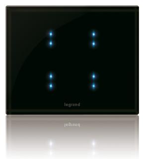 Сенсорный сценарный выключатель для системы умный дом