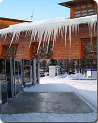 система антиоблединения и снеготаяния